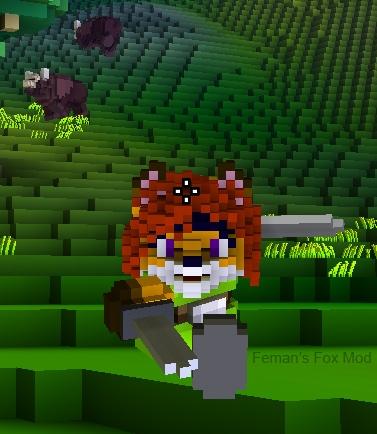 Feman's Fox Race Pack! : Player Models : Cube World Mods