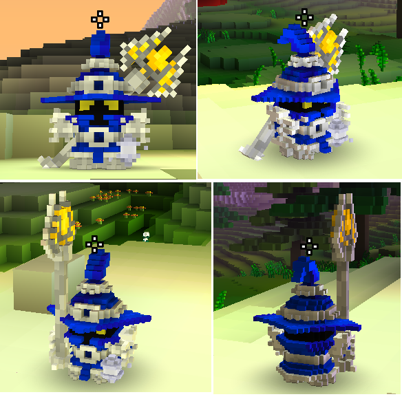 Veigar, from League of Legends : Player Models : Cube World Mods